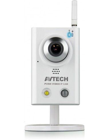 AVTECH - caméra IP AVN813 1.3 MP, Wifi. Push Vidéo, PIR, LED