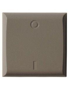 Plaquette (taupe) pour interrupteur simple DIO
