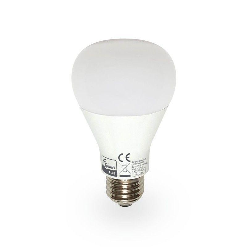Domitech - Ampoule LED E27 Z-Wave+ dimmable ZBulb