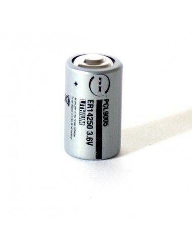 Enix - Pile lithium ER14250 taille 1/2AA 3,6V 1,2Ah PP