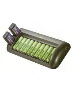 Enix - Chargeur de piles pour 10AA ou 10AAA ou 9V