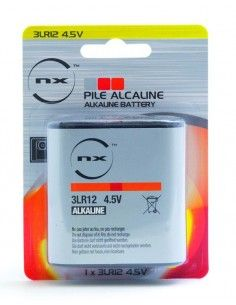Enix - Pile alcaline blister 3LR12 4.5V