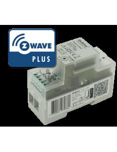 Qubino - Module de mesure d'énergie Z-Wave+ au format DIN (Qubino Smart Meter ZMNHTD1)