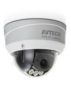 AVTECH - caméra dôme IP AVM543 2MP, LED IR, lentille motorisée, Solid Light, OnVif, PoE, WDR, antivandale