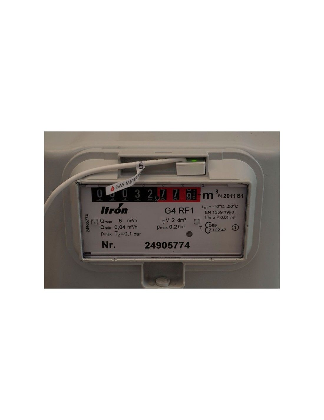 Data Loggers And Natural Gas Detectors : Northq z wave data logger for gas meters