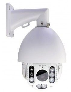 AVTECH - caméra Speed Dome IP motorisée AVM2592L 2MP PTZ, 18x Optical Zoom, POE, IR, DWDR, Line in/out, external I/O, SD, Auto T