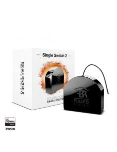 FIBARO - Module relais 1 charge Z-Wave+ FGS-213 (FIBARO Single Switch 2)