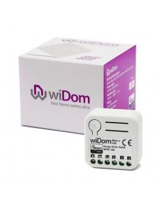 WiDom - Z-Wave+ Flush 1 relay with energy meter (Energy Driven Switch version S)