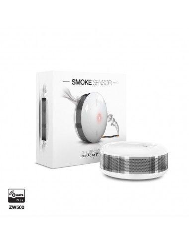 FIBARO - Détecteur de fumée Z-Wave Plus FGSD-002 (FIBARO Smoke Sensor)