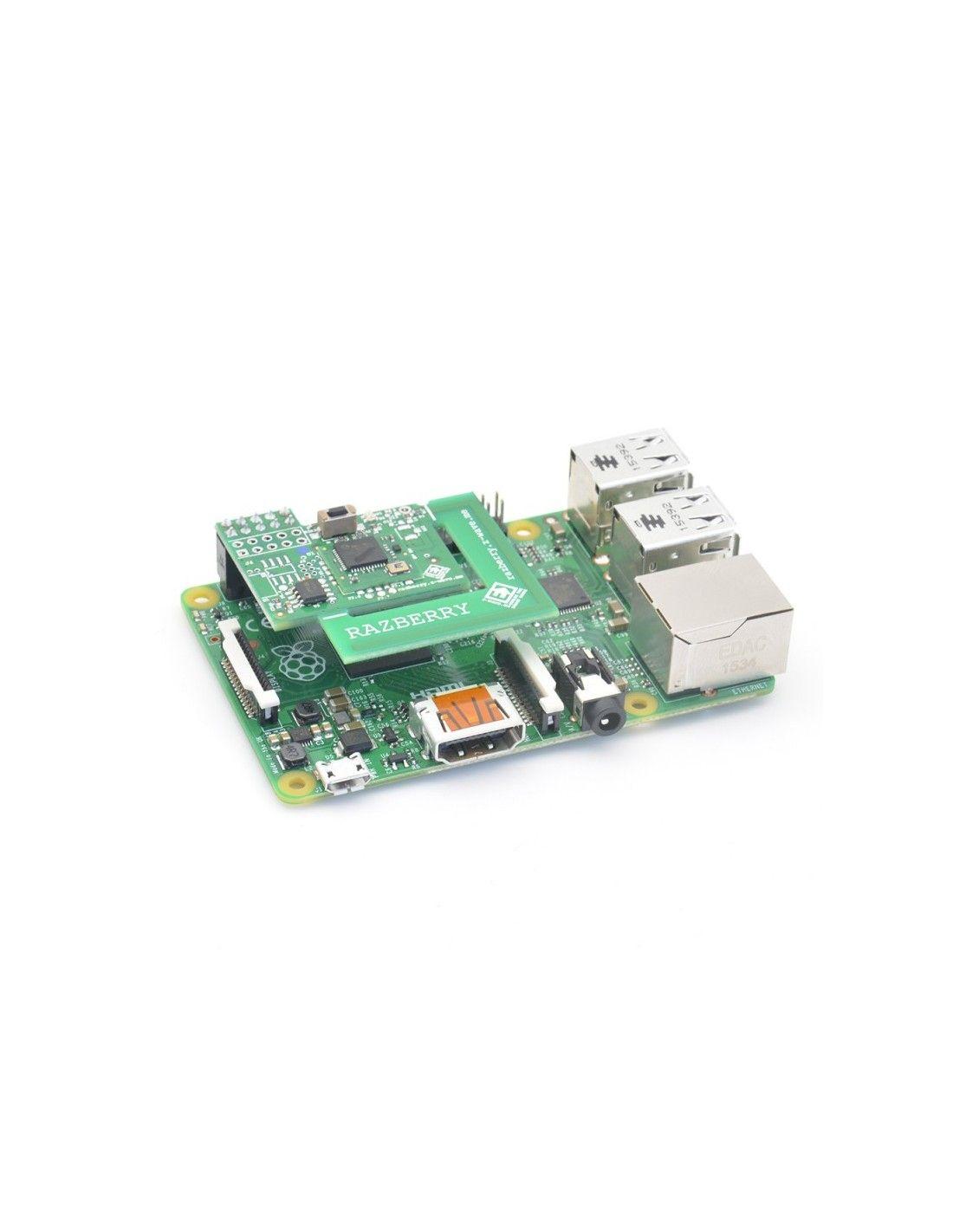 Z-Wave Me - Scheda d'espansione Razberry 2 Z-Wave+ per Raspberry Pi