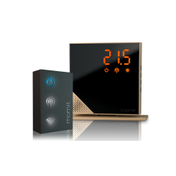 Momit - Home Thermostat Starter Kit (Luxury Gold)
