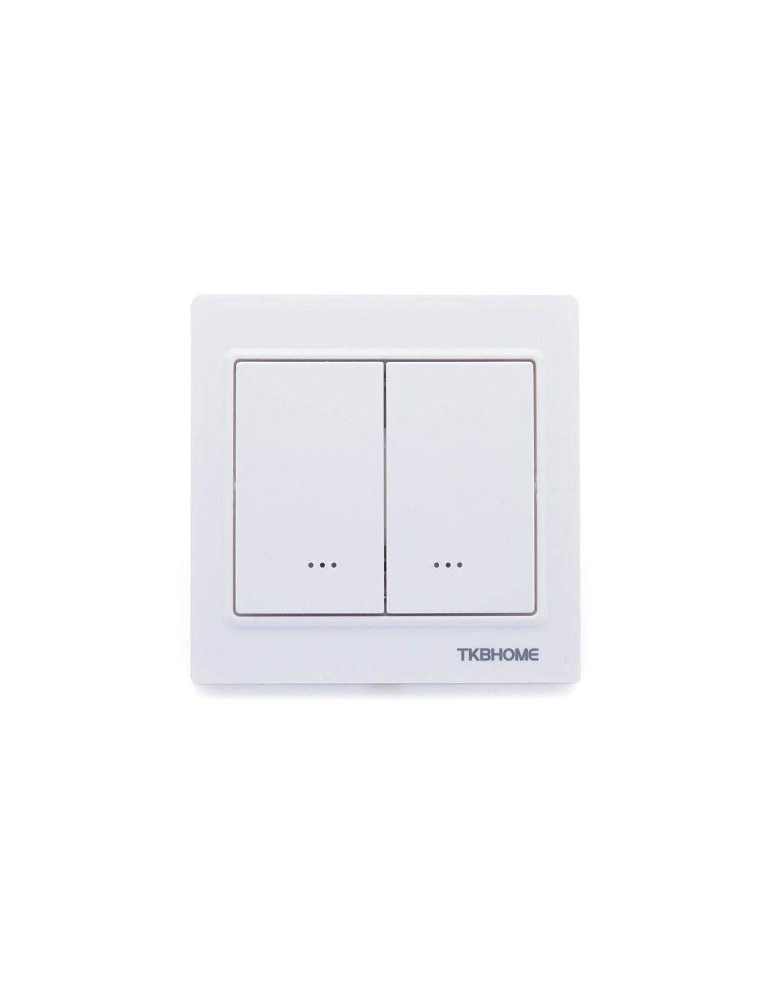 TKB Home - Doppel-Schalter (1 Last) Z-Wave+ Weiss (TZ56D-ZW5)