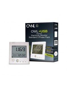 OWL + USB - Enregistreur de consommation CM160 (pack 3 pinces taille standard)