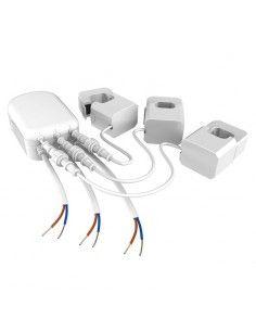 Aeon Labs - Compteur de consommation électrique Z-wave+ 3 pinces (60A, GEN5)
