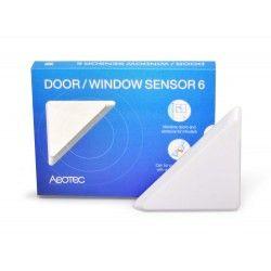Aeotec - Capteur d'ouverture de porte/fenêtre ZWave+ ZW112 (Door/Window Sensor 6)
