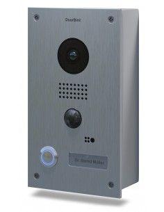 Doorbird - Portier vidéo connecté D201 - Acier inoxydable, édition apparente