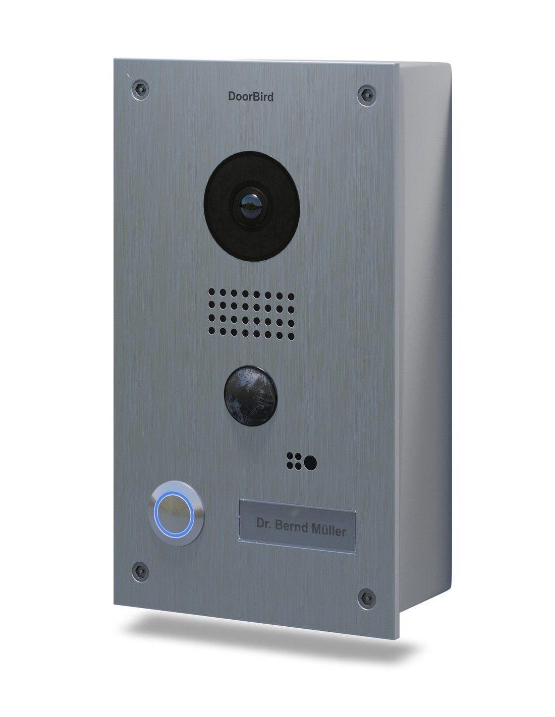 Doorbird portier vid o connect d201 acier inoxydable dition apparente - Portier video connecte ...