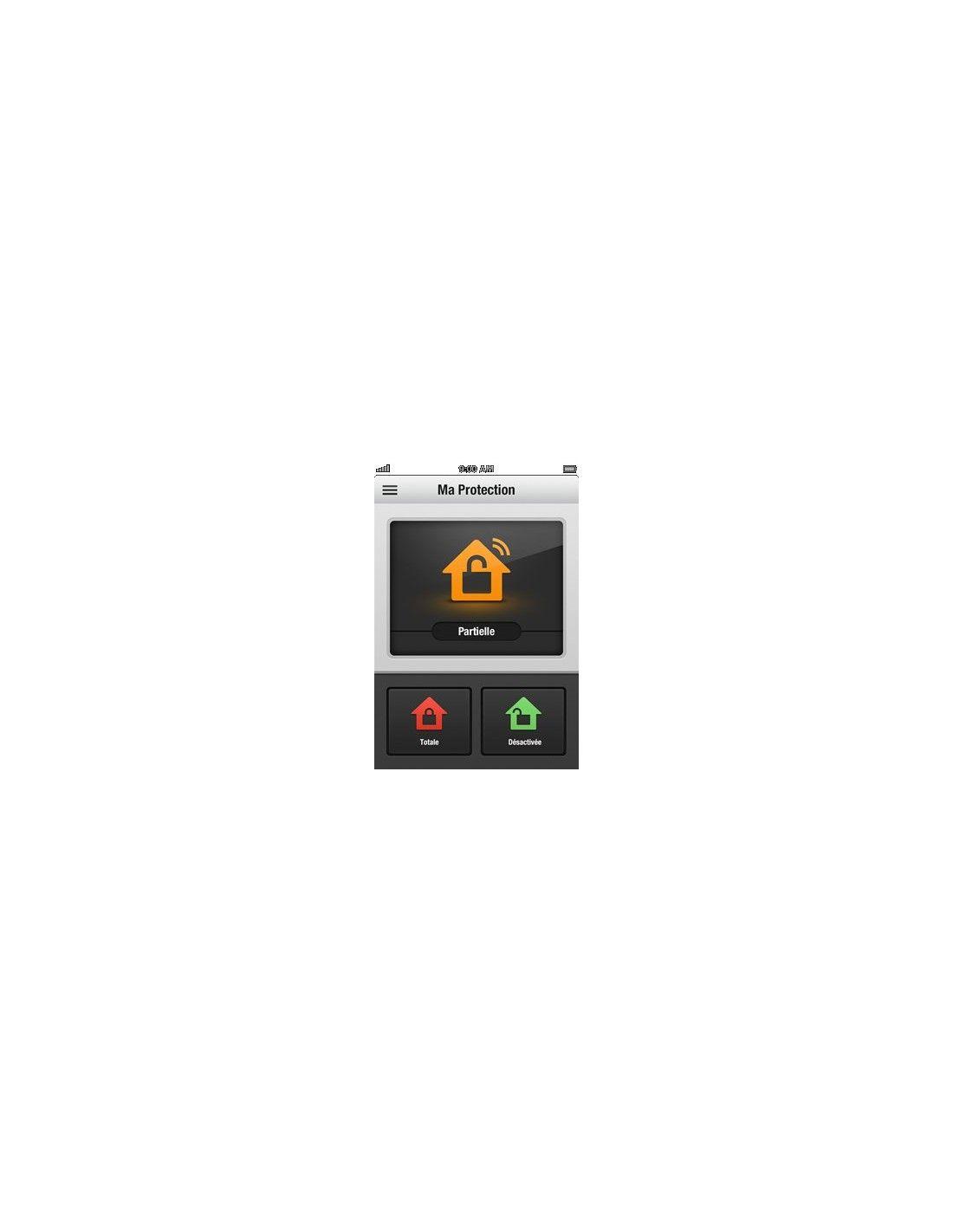 Myfox centrale ip home control 2 domo supply - Myfox home control ...