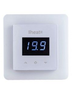 Thermofloor - Thermostat Z-Wave Heatit 3600W 16A, blanc