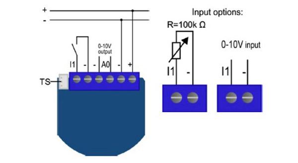 Qubino - Z-Wave+ Flush dimmer 0-10V ZMNHVD1